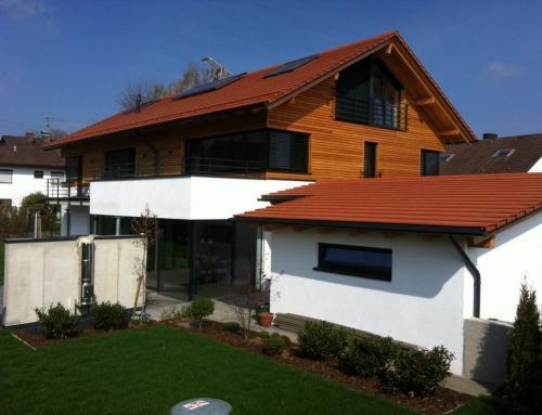 Wohnhaus in München mit Wellnessbereich im Keller